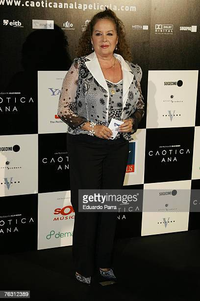 Fedra Lorente at the premiere of Caotica Ana August 23 2007 at the Kinepolios Cinema in Madrid Spain