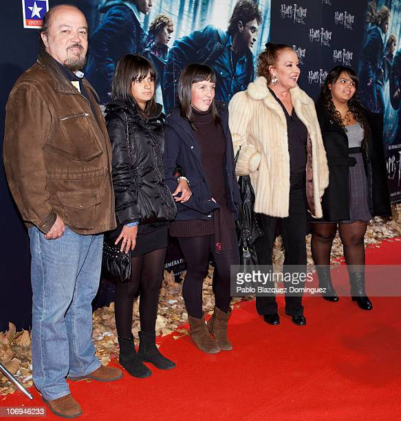 Fedra Lorente attends 'Harry Potter and the Deathly Hallows Part 1' Photocall at Kinepolis Cinema on November 17 2010 in Madrid Spain