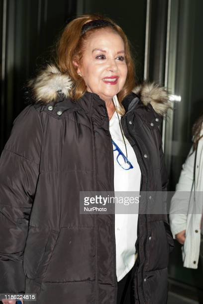 Fedra Lorente attends the Delivery of the Maria de Villota Awards in Madrid December 2 2019 Spain