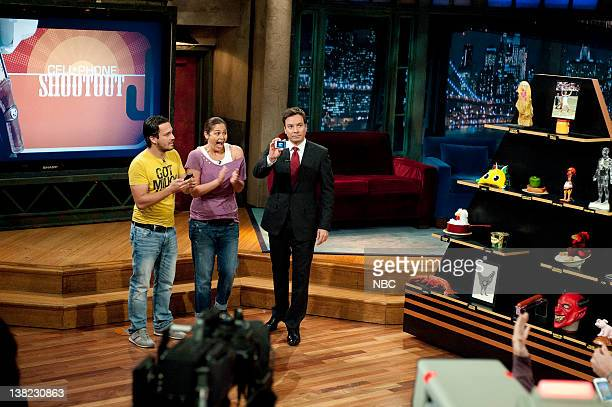 TOP CHEF Feeding Fallon Episode 809 Pictured Contestants Fabio Viviani Antonia Lofaso guest judge Jimmy Fallon