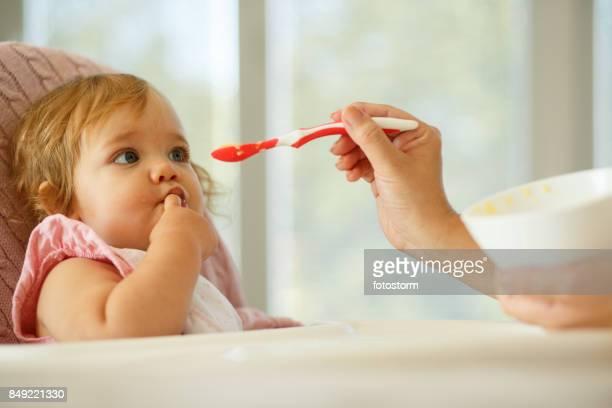 Feeding el bebé