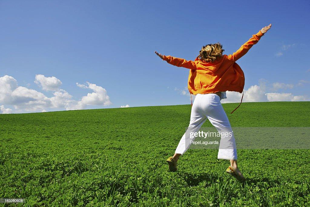 I feel free! : Stock Photo