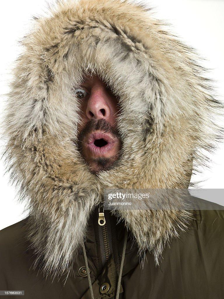 Feeling Cold : Stock Photo
