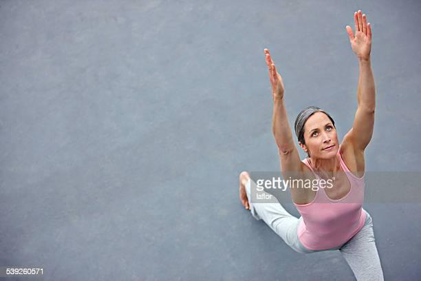 Sich frei und flexibel