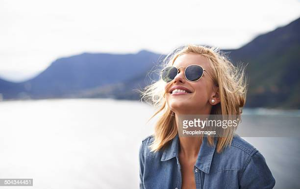feeling free in nature - sunglasses stock pictures, royalty-free photos & images