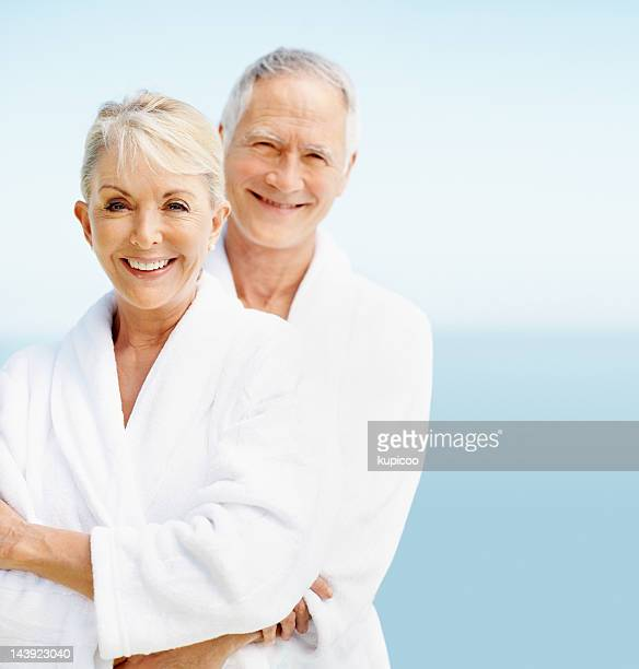 feeling fresh and full of life - bathrobe stock pictures, royalty-free photos & images