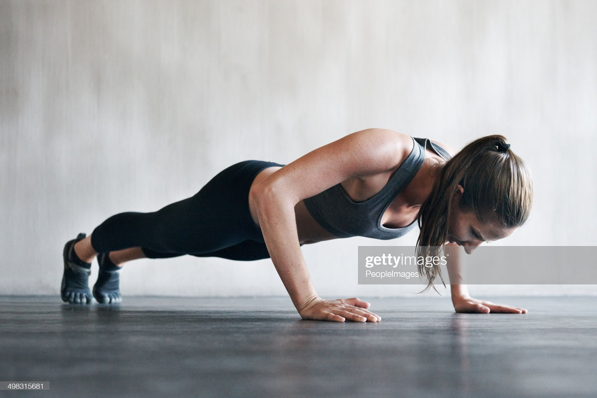 Feeling good, looking great from working out regularly : Stock Photo