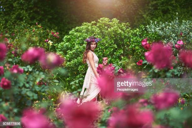 feeling like a goddess today in nature - venus roman goddess stock pictures, royalty-free photos & images
