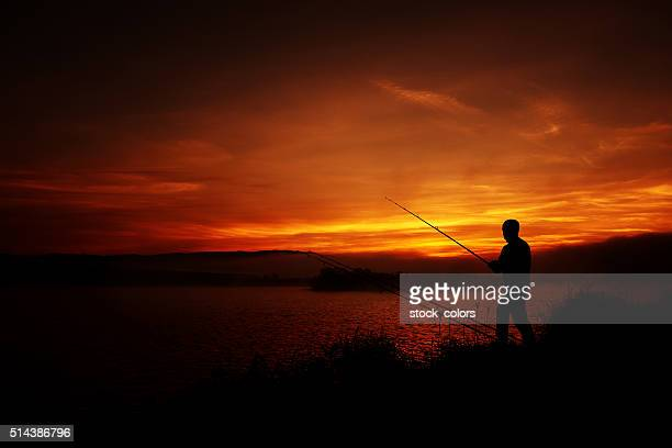 feeling relaxed while fishing