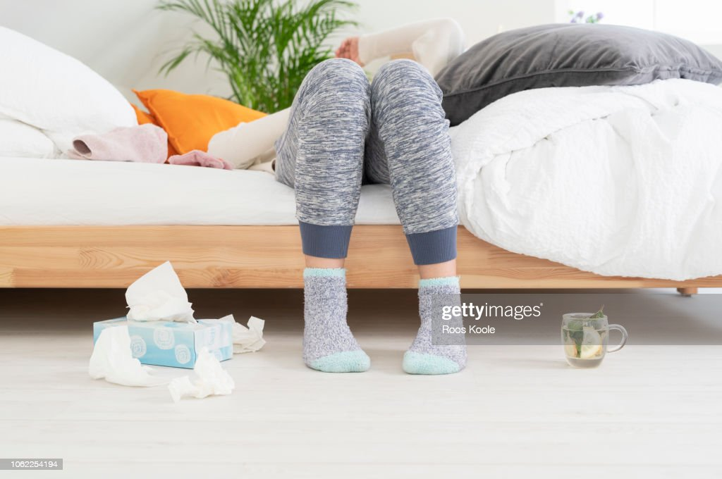 Feeling sick : Stock Photo