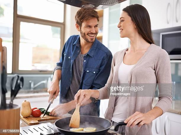 Siente el calor de la cocina