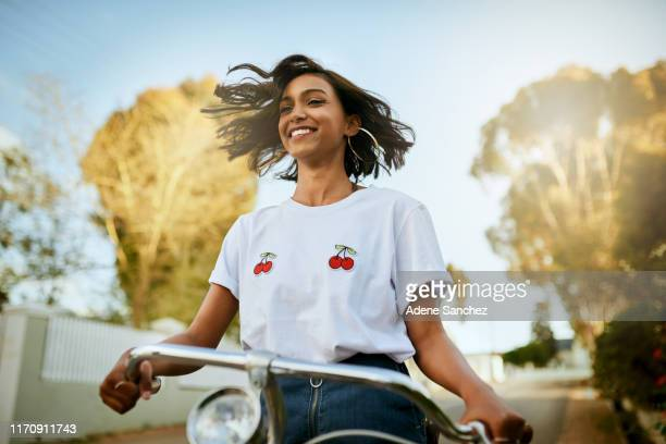feeling the wind in my hair - beautiful east indian women stock pictures, royalty-free photos & images