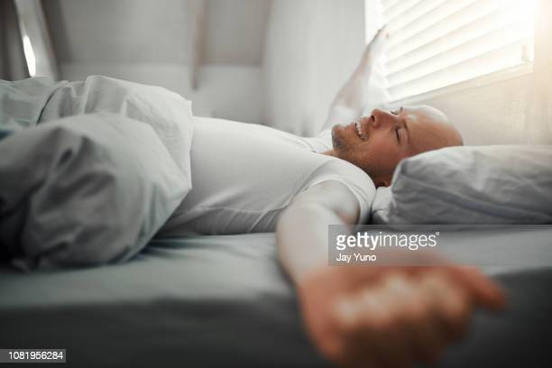 feeling well-rested - waking up stock pictures, royalty-free photos & images