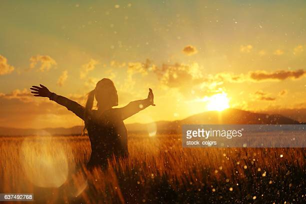 feelings for my soul - spirituality stockfoto's en -beelden