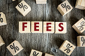 Fees sign