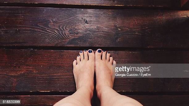 Feet Of A Woman
