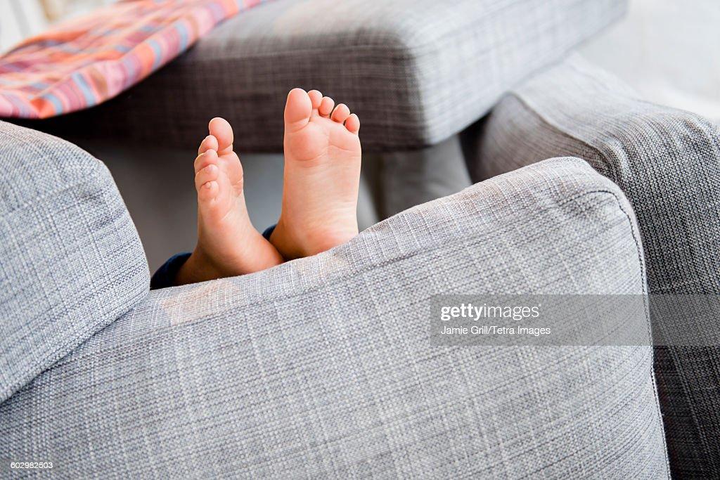 Feet of girl (6-7) : Stock Photo