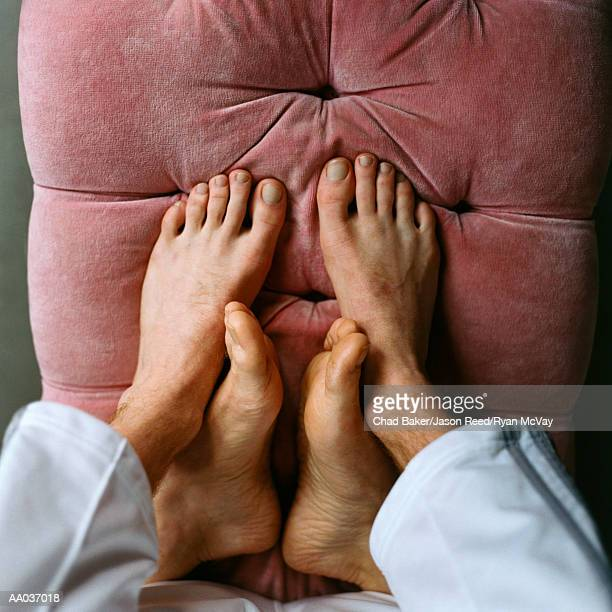 Feet of Male Couple