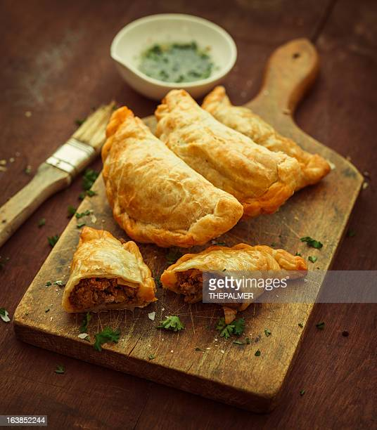 pies - empanada stock pictures, royalty-free photos & images