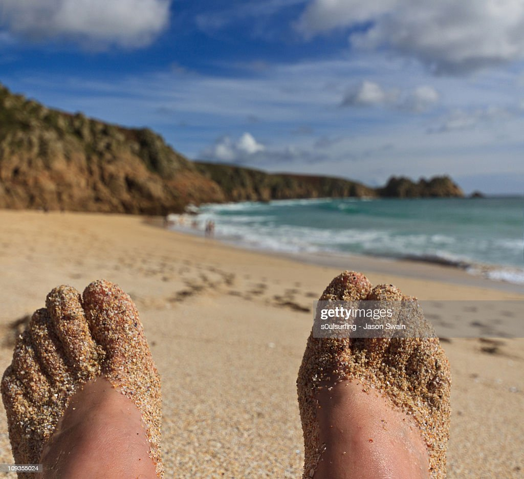 Feet-up Friday Vertorama : Stock Photo
