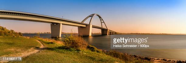 fehmarnsund bridge - fehmarn stock pictures, royalty-free photos & images