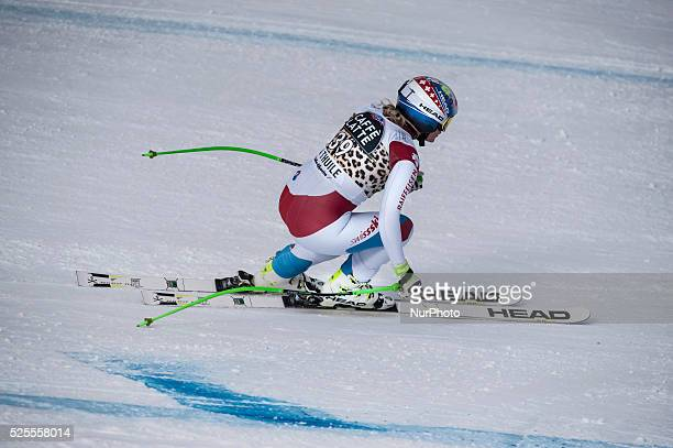 Feierabend Denise -SUI-AUDI FIS SKI WORLD CUP- La Thuile-Valle D'Aosta 8th Ladies' downhill- on 20th February , 2016.