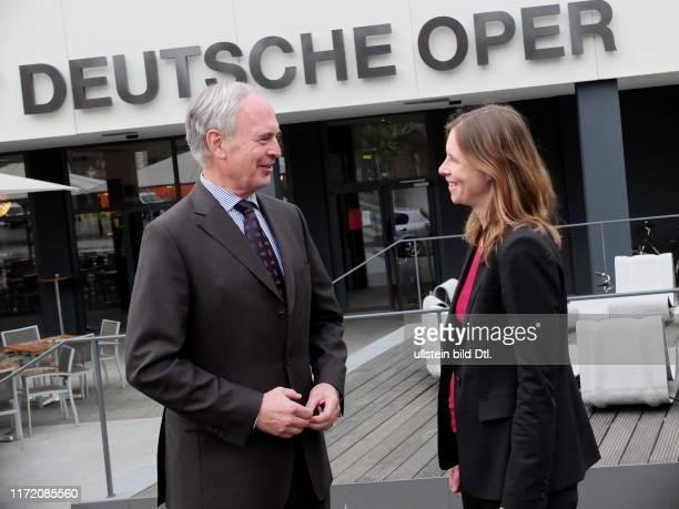 Feierabend mit BDIChef HansPeter Keitel in der Deutschen Oper Berlin