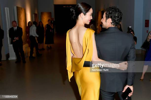 FeiFei Sun and Zac Posen attend the CFDA Fashion Awards at the Brooklyn Museum of Art on June 03 2019 in New York City