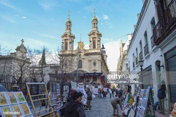 feira de san telmo - buenos aires - colman stock photos and pictures