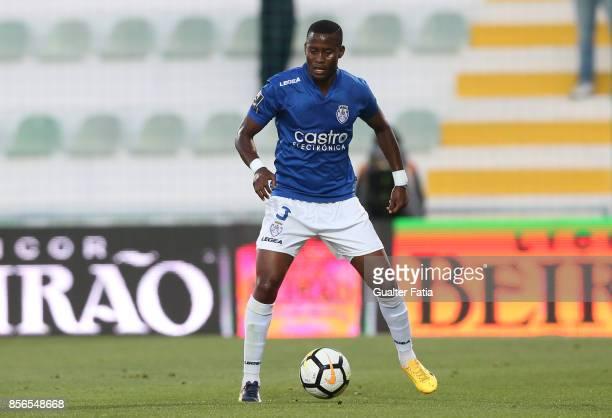 CD Feirense defender Alex Kakuba from Uganda in action during the Portuguese Primeira Liga match between Portimonense SC and CD Feirense at Estadio...
