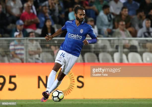 CD Feirense defender Bruno Nascimento from Brazil in action during the Portuguese Primeira Liga match between Portimonense SC and CD Feirense at...