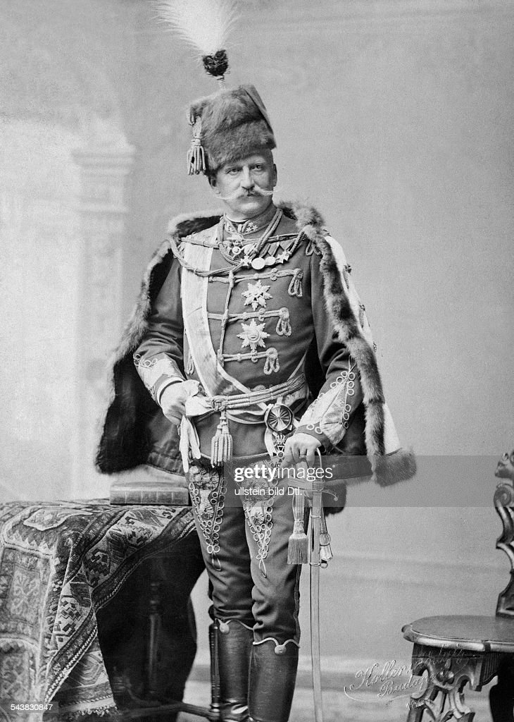 Fejervary, Geza of - Baron, General, Prime Minister,... News Photo ...