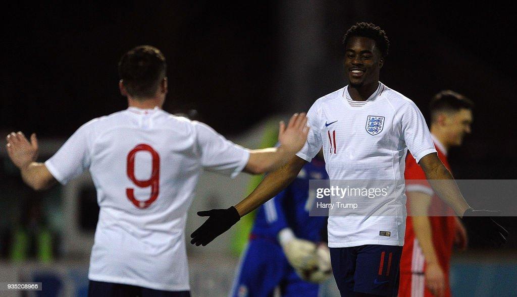Wales v England - C International : News Photo