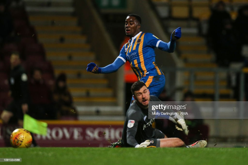 Bradford City v Shrewsbury Town - Sky Bet League One : News Photo