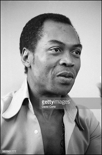 Fela Kuti at The Senator Hotel London United Kingdom 11 November 1983