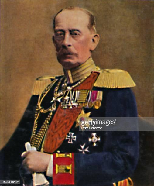 'Feldmarschall Graf Schlieffen' 1934 Alfred Graf von Schlieffen German field marshal and strategist who served as Chief of the Imperial German...