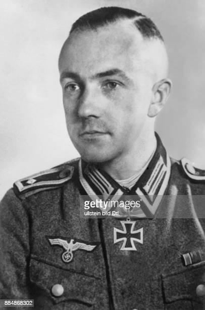 Feldwebel, Deutschland *-+ Portrait des Feldwebels mit dem Eisernen Kreuz Originalaufnahme im Archiv von ullstein bild