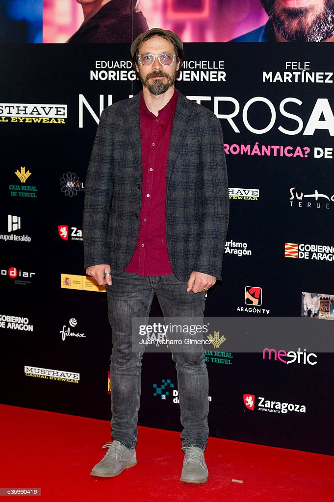 Fele Martinez attends 'Nuestros Amantes' photocall at Palafox Cinema on May 31, 2016 in Madrid, Spain.