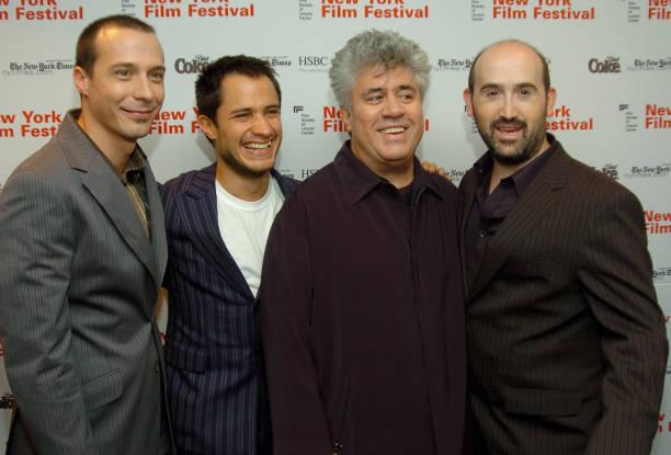 The 42nd new york film festival bad education premiere - Pedro martinez garcia ...