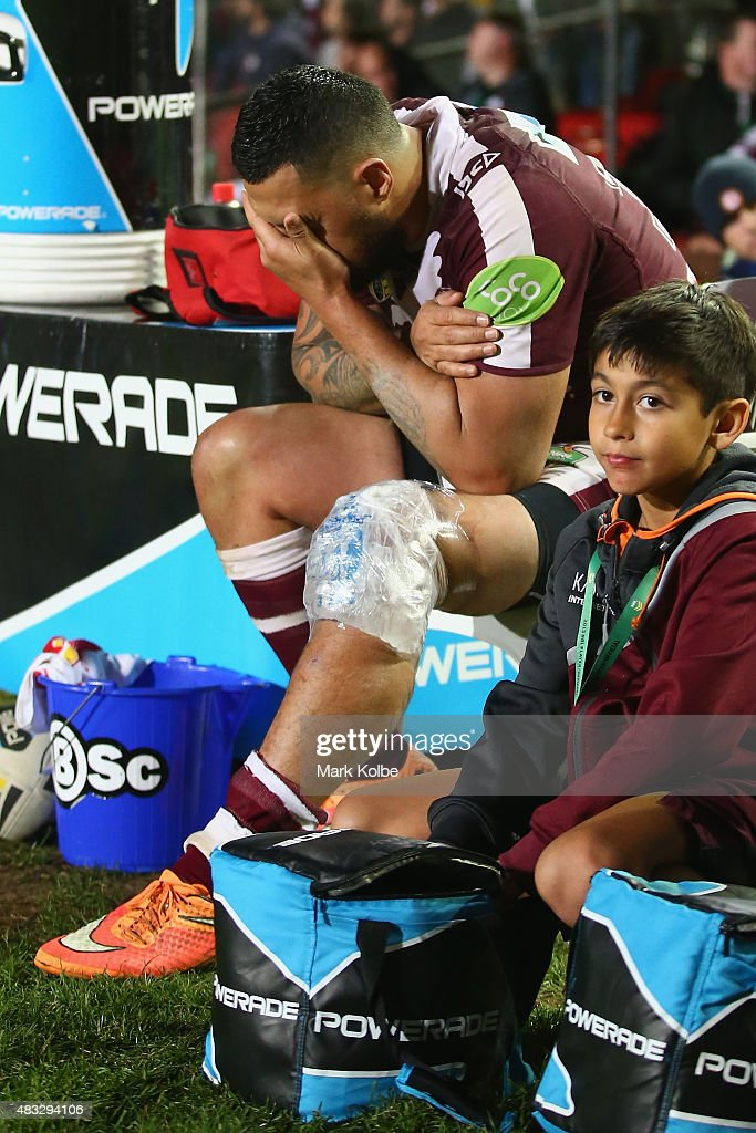 NRL Rd 22 - Sea Eagles v Rabbitohs