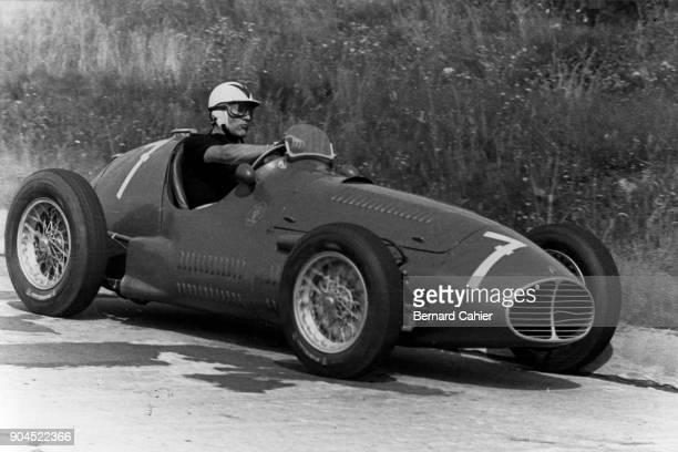 Felice Bonetto Maserati A6GCM Grand Prix of Germany Nurburgring 02 August 1953