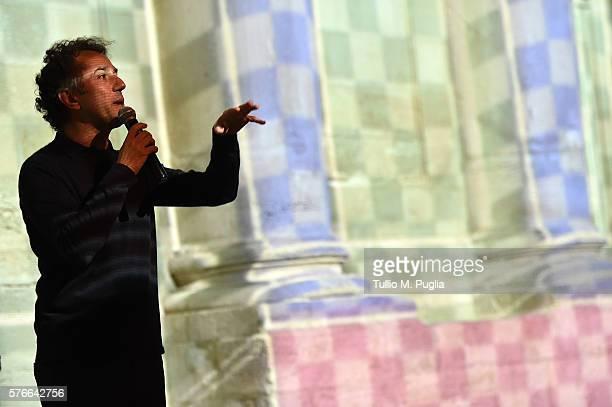 Felice Limosani attends Locus Festival 2016 on July 16 2016 in Locorotondo near Bari Italy