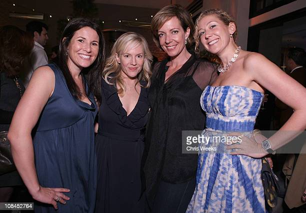 Felicia Alexander director of Sony Cierge Actresses Rachael Harris and Allison Janney and Amy Berman director of Sony Cierge attend the 'Sony Cierge...