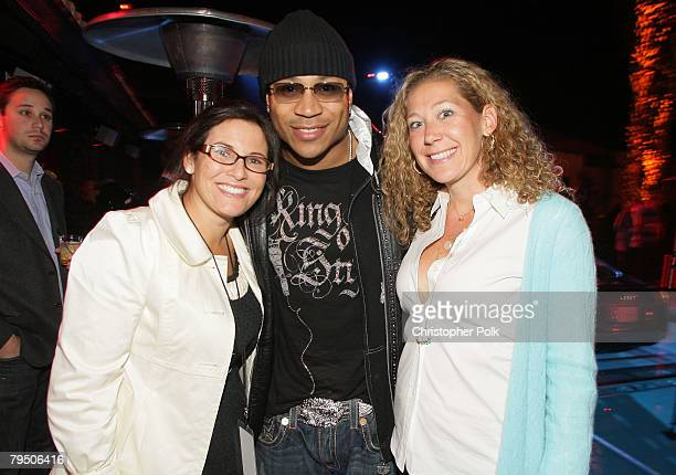 SCOTTSDALE AZ FEBRUARY 02 Felicia Alexander LL Cool J and Amy Berman attend the Kate Hudson and ''Fool's Gold' cocktail reception held at the Audi...