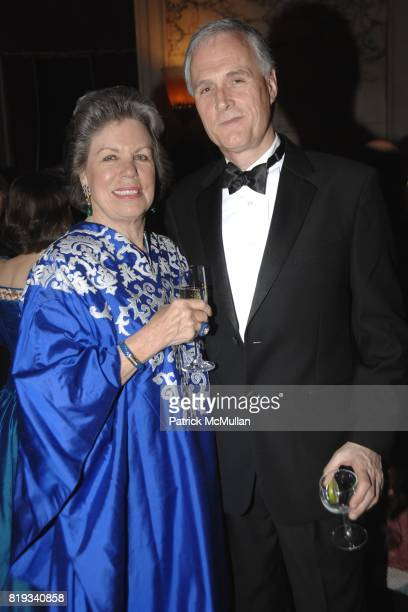 Felicia Blum and David Angus attend Glimmerglass Opera Spring Gala to Benefit the Young American Artists Program at The Metropolitan Club on April 27...