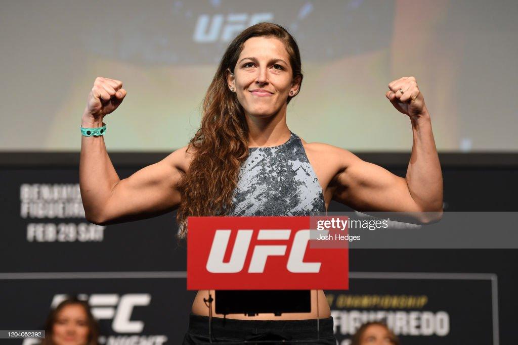 UFC Fight Night: Weigh-In : Nieuwsfoto's
