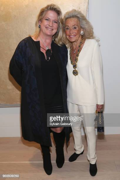 Felicia Taylor and Terry Allen Kramer attend Ambassador Grenell Goodbye Bash on May 6 2018 in New York City