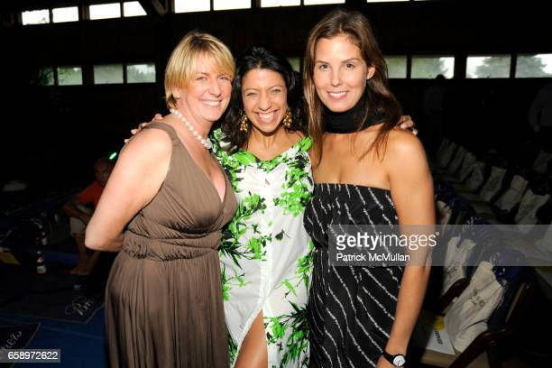 Felicia Taylor Lisa Anastos and Melissa Skoog attend THE WATERMILL CONCERT 2009 'Last Song of Summer' at Filed House of Ross School on August 29 2009...