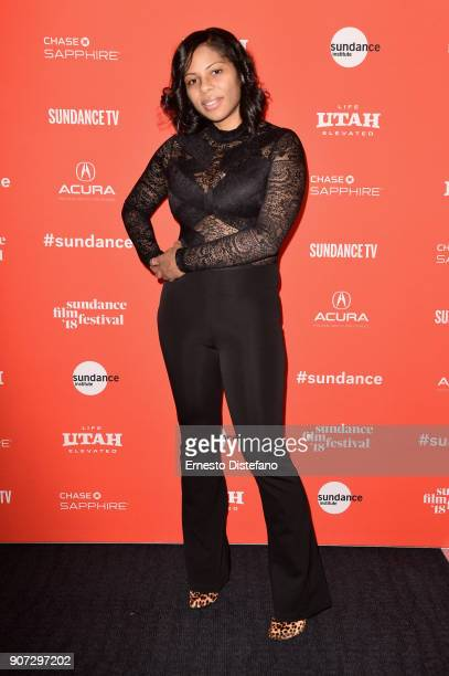 Felicia Whitely attends the 'Crime And Punishment' Premiere during the 2018 Sundance Film Festival at The Ray on January 19 2018 in Park City Utah