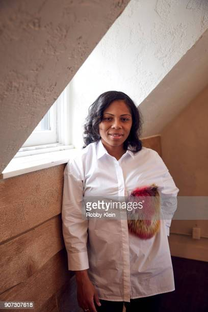 Felicia Whitely from the film 'Crime and Punishment' poses for a portrait in the YouTube x Getty Images Portrait Studio at 2018 Sundance Film...